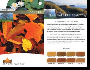 Sansin Colour Brochure