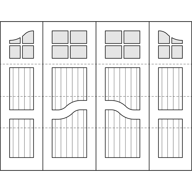 Harrington Design  sc 1 st  Oxford Carriage Door & DOOR DRAWING GALLERY \u2013 Oxford Carriage Door