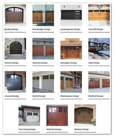 Click here to view door design photos by Oxford Carriage Door Ltd.