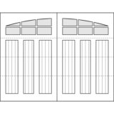 Oxford Carriage Door Design Drawing - Oxford